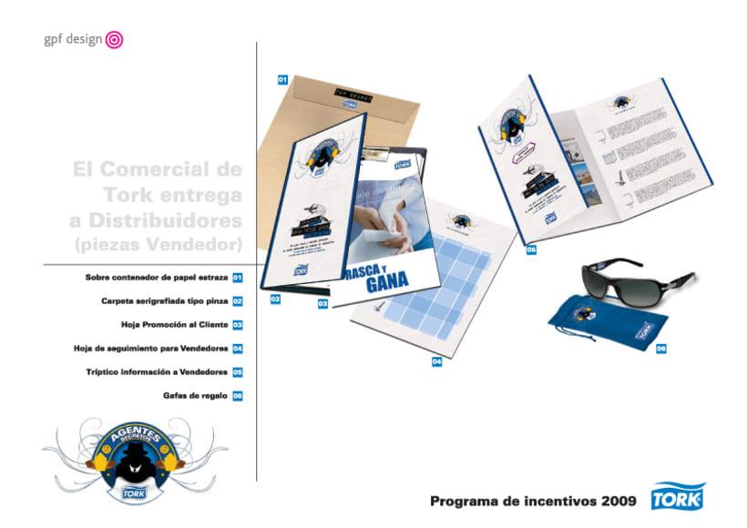 Incentivos Tork 2009 11