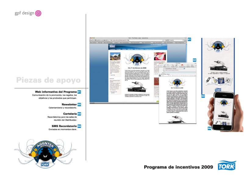 Incentivos Tork 2009 12