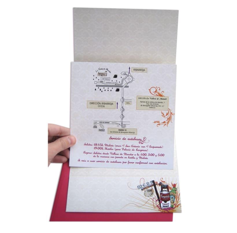 Tarjeta boda 6