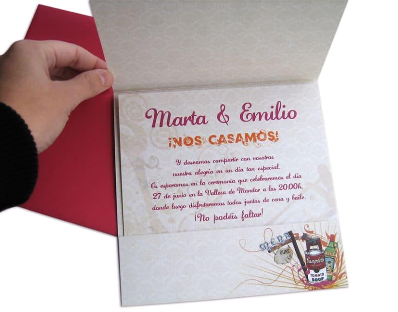 Tarjeta boda 4