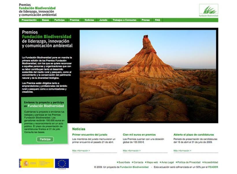 Premios Fundación Biodiversidad 1