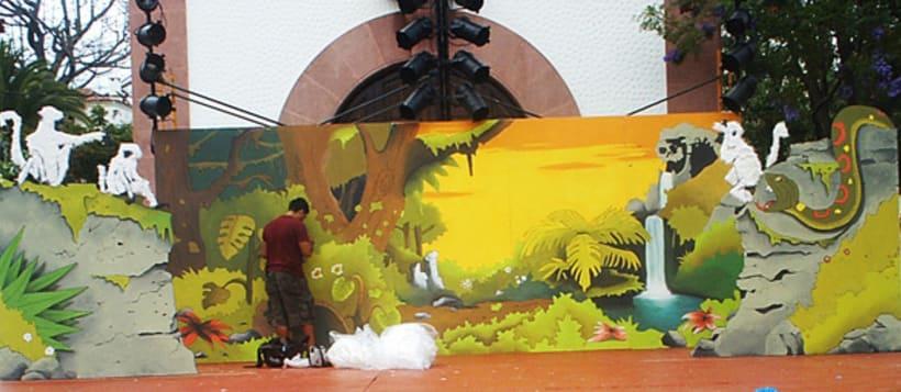 Escenarios y decoración 6