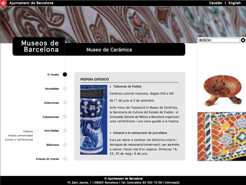 Web museos de Barcelona 2