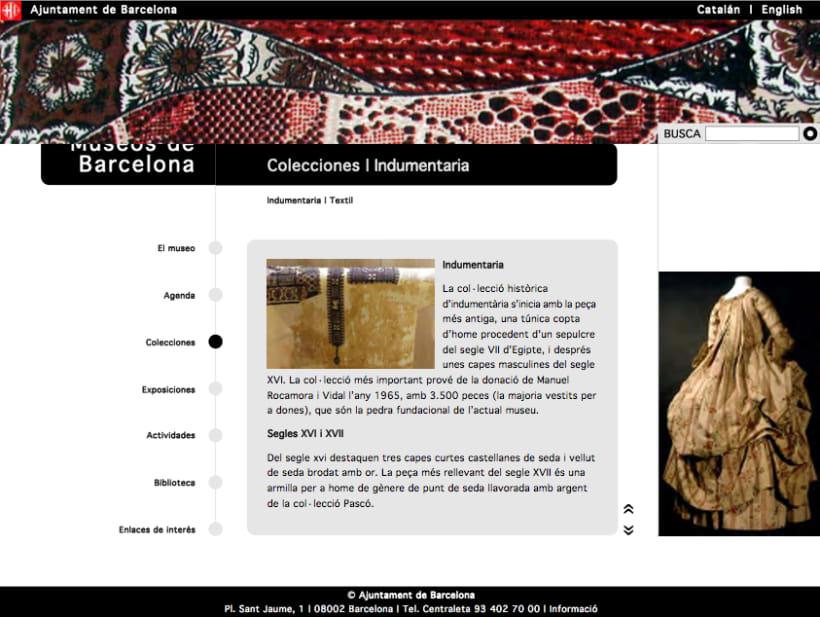 Web museos de Barcelona 1