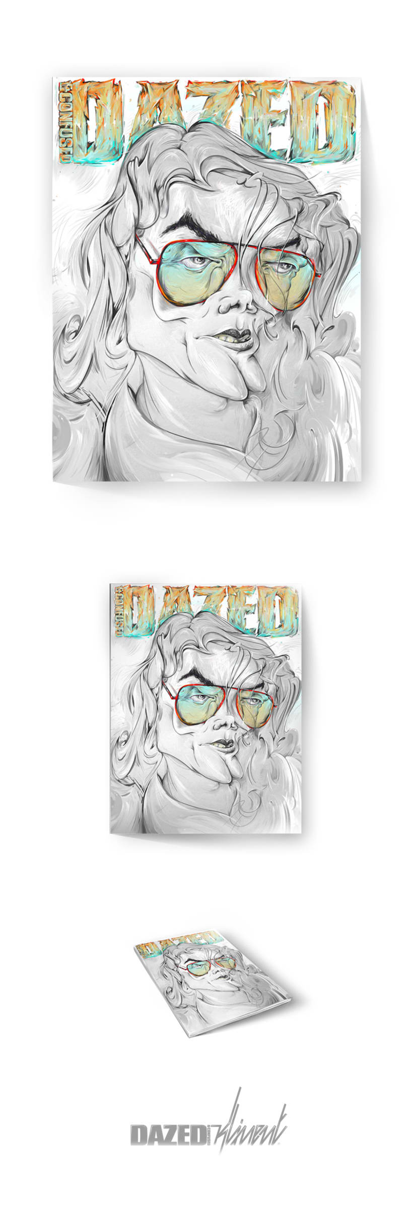 Dazed Decade Drawn Out 1