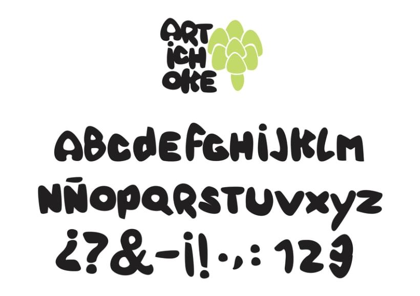 Tipografía Artichoke 2