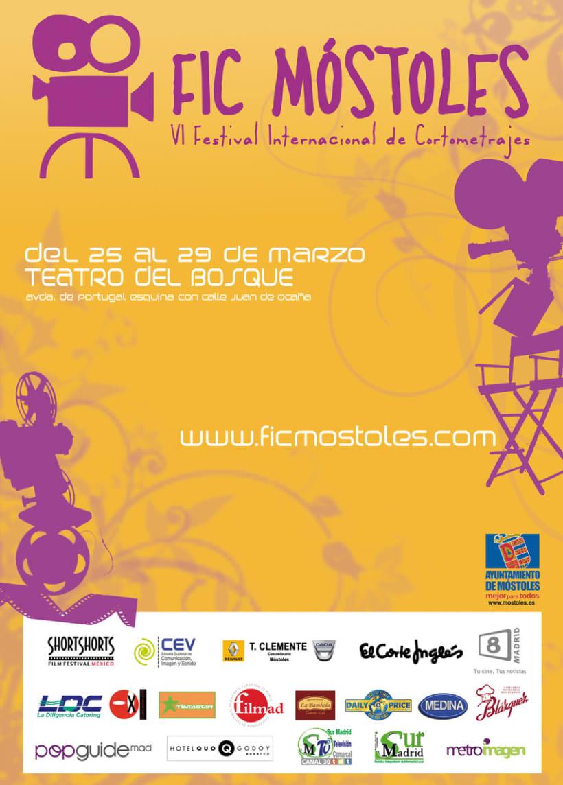Concepto gráfico - Festival Internacional de Cortometrajes de Móstoles 09 2