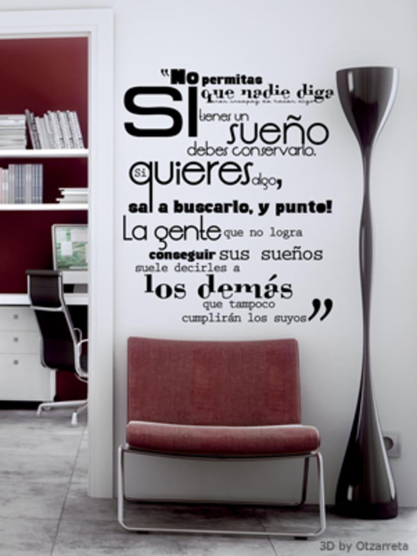 Colección Vinilos typograhic 4