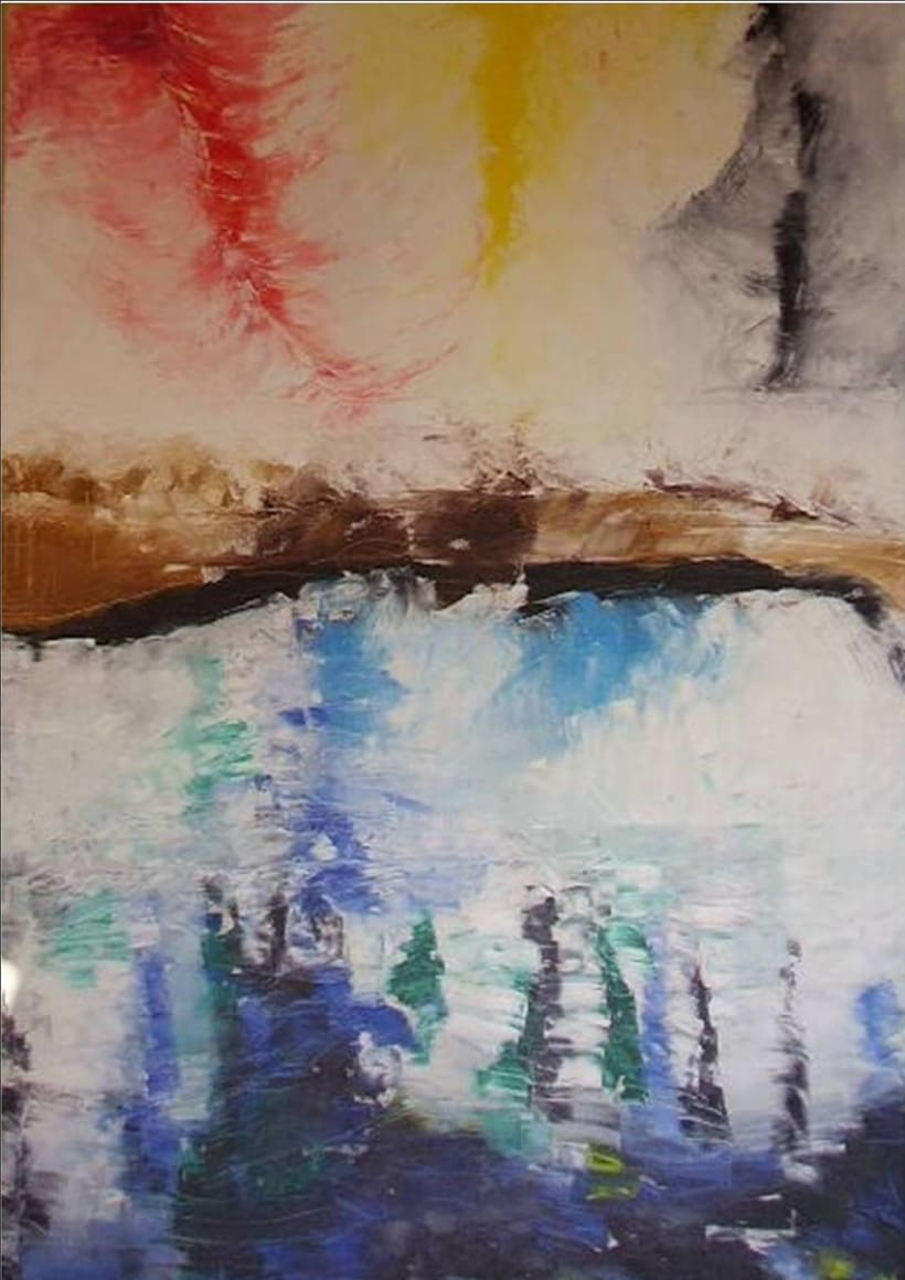 Oleo sobre tela- Sin Titulo 3