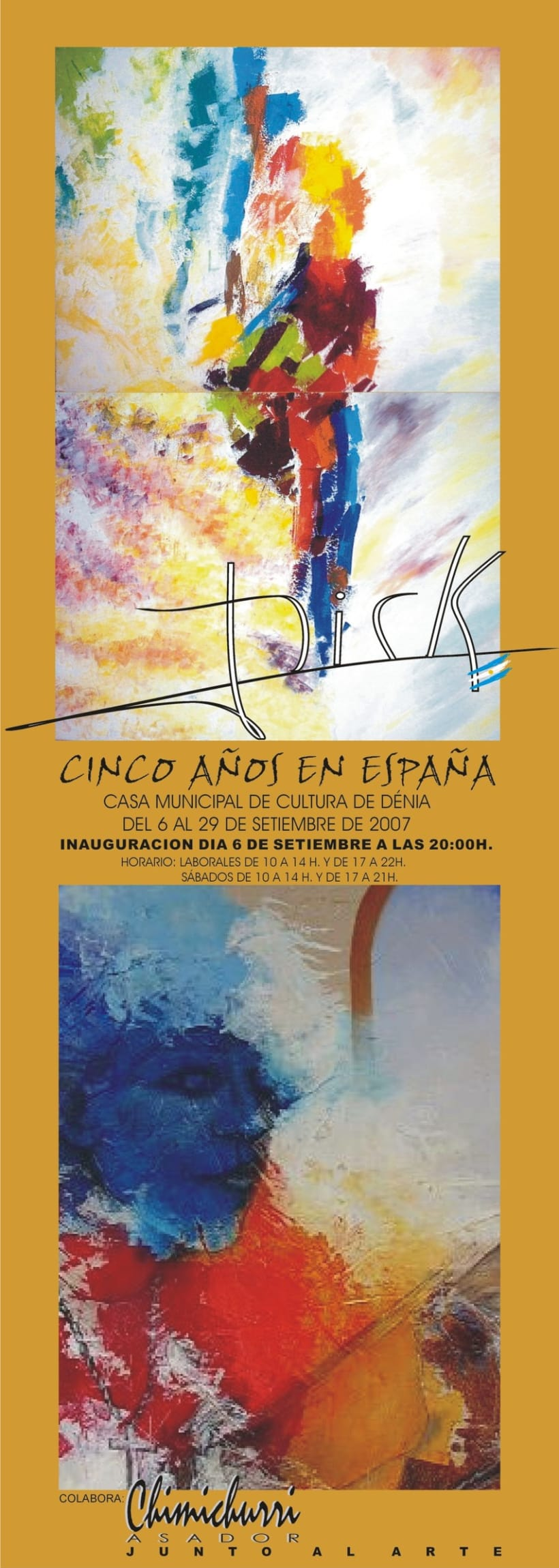Catálogo y Afiche expo 2007 10