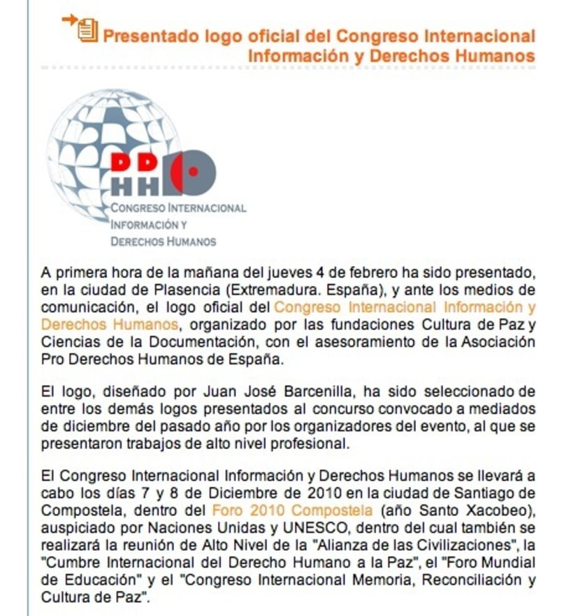 Logotipo Congreso Internacional 2