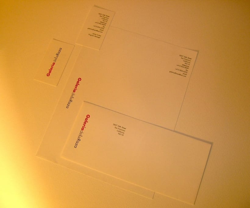 Stationery for a Gallery 2