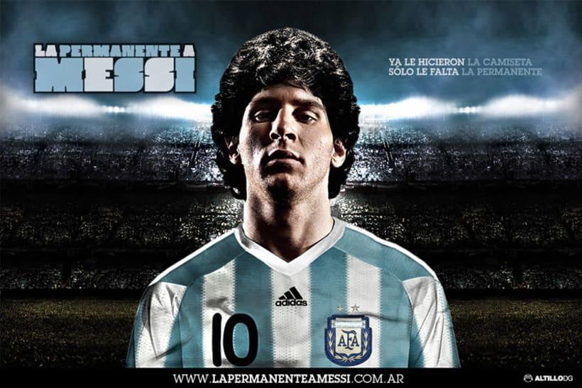 La Permanante a Messi 1