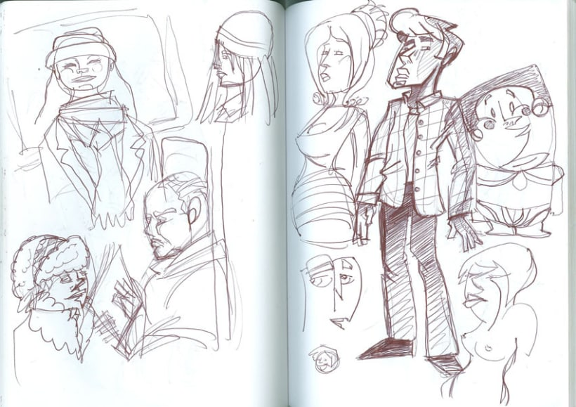 London-Sketches 7