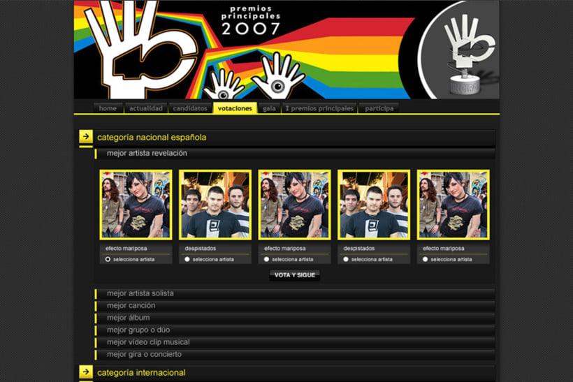 Premios 40 principales 2007 2