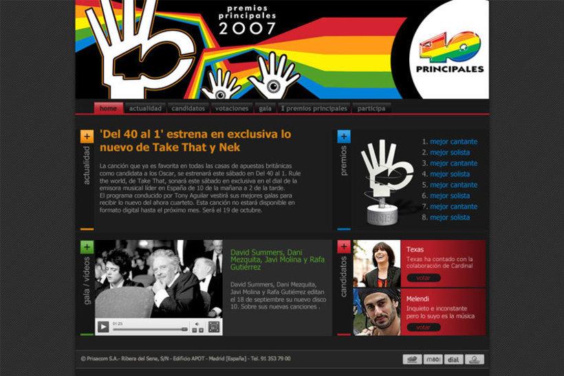 Premios 40 principales 2007 1