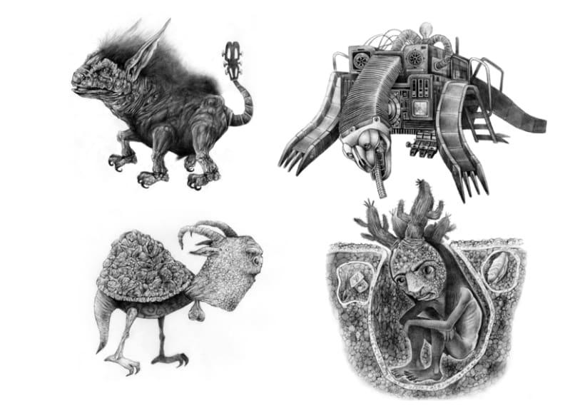 Adolfo y sus monstruos 1
