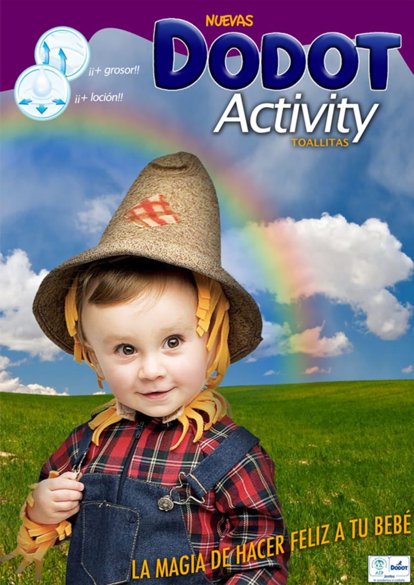 Toallitas Dodot Activity 2