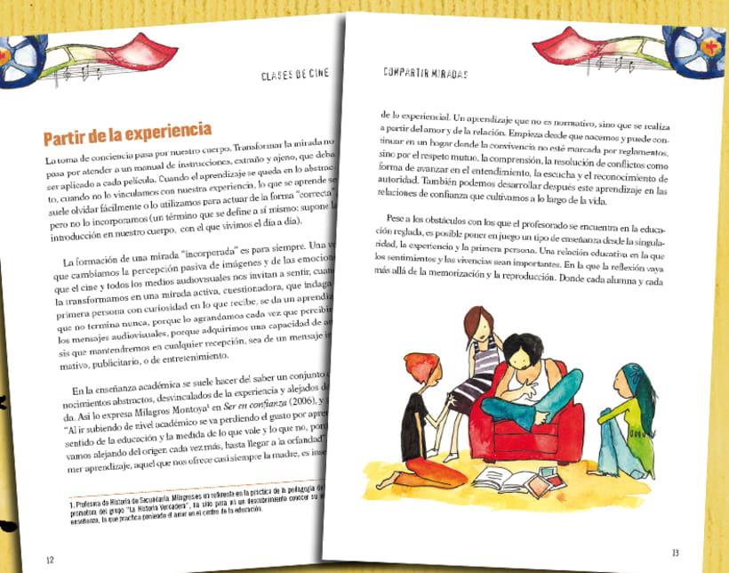"""Libro y cd """"Clases de cine"""" 3"""