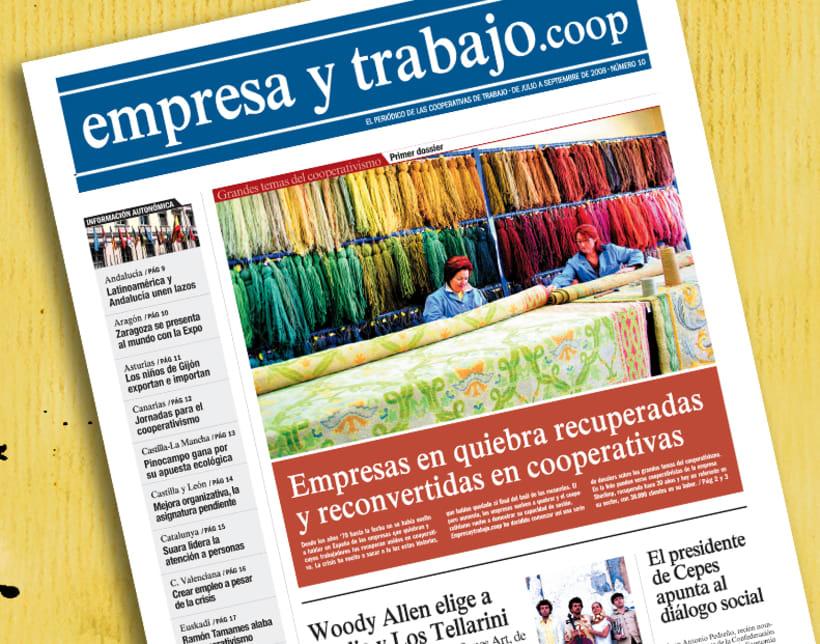 Periódico 'empresa y trabajo.coop' 2