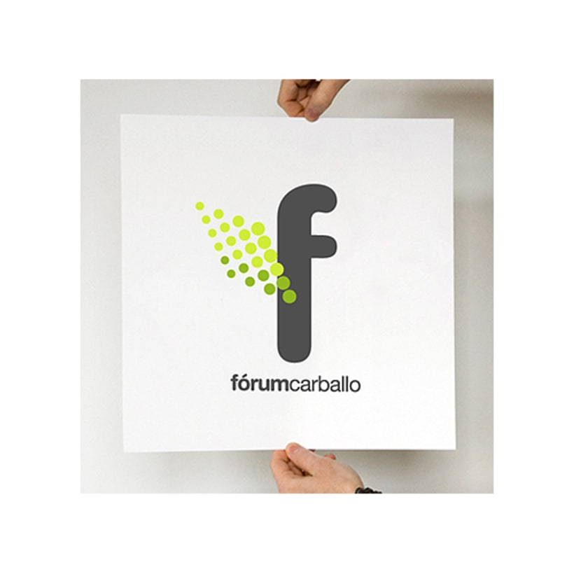 Logotipo Fórum Carballo 1