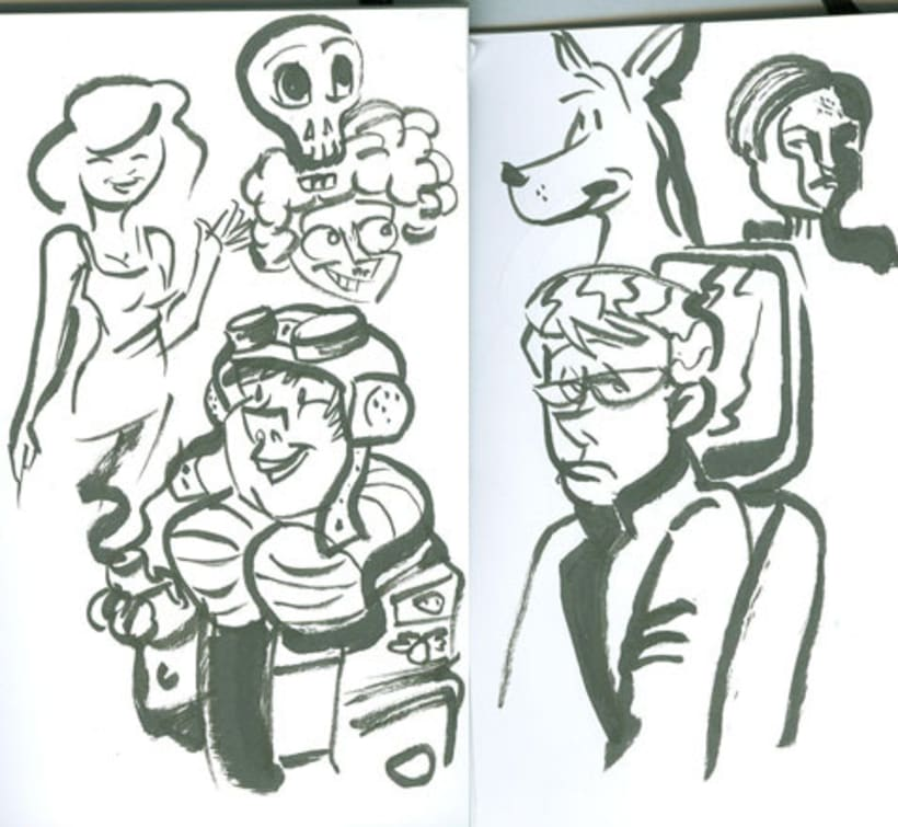 London-Sketches 1