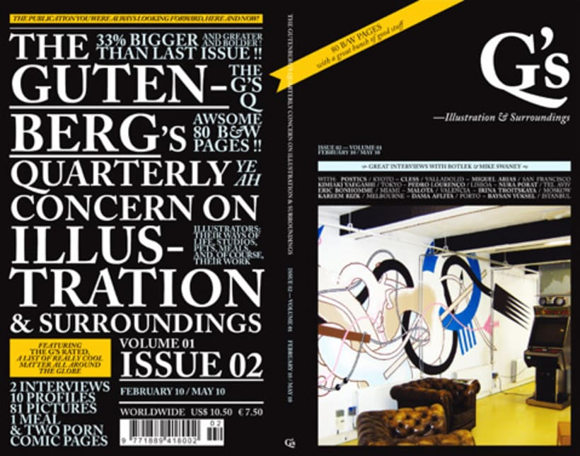 The Gutenberg's Quarterly Concern on Illustration & Surroundings 3