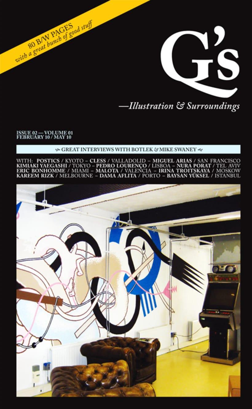 The Gutenberg's Quarterly Concern on Illustration & Surroundings 2