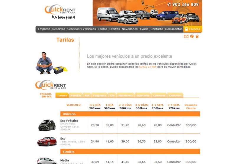 Web E-commerce Quick Rent 5
