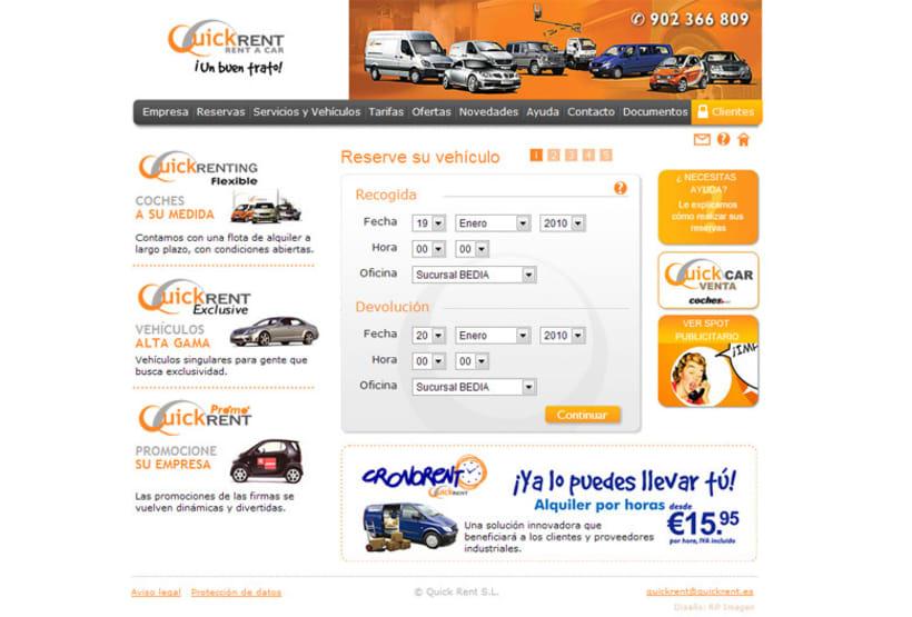 Web E-commerce Quick Rent 2