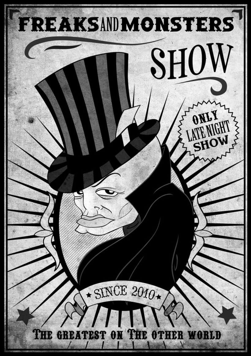 Freaks and Monsters Show 1