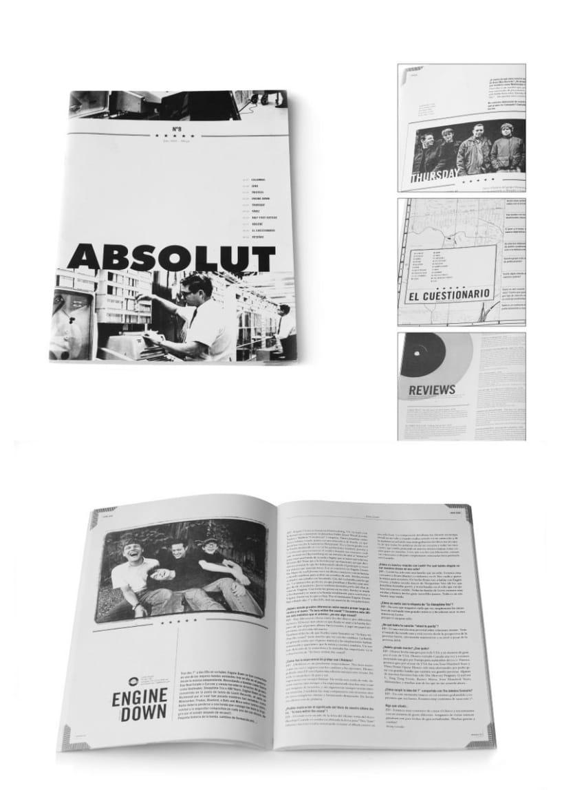 "Revista ""Absolut zine #8"" 1"
