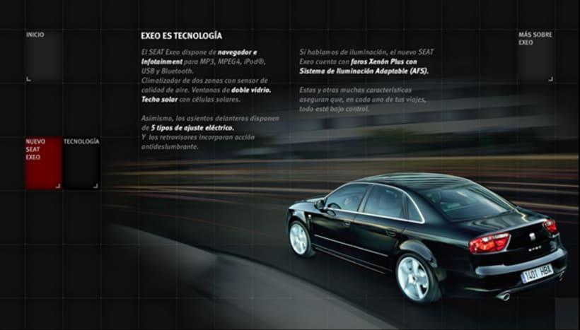 Seat Exeo Microsite España 3