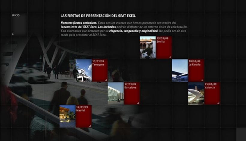 Seat Exeo Microsite España 2