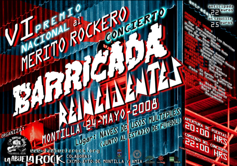 BARRICADA Abuela Rock 1
