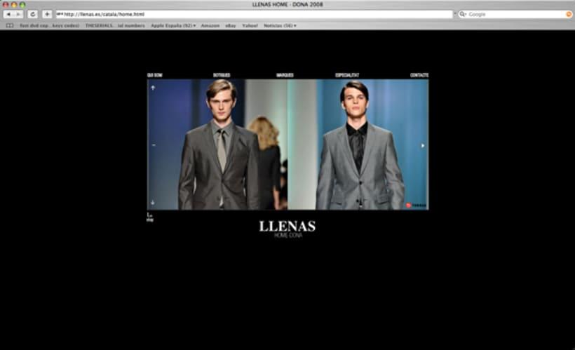 web Llenas, boutique moda.Bcn. 3
