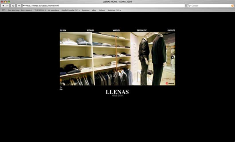 web Llenas, boutique moda.Bcn. 4