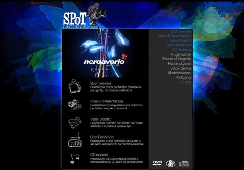 Sviluppo di sito Web Spot 0
