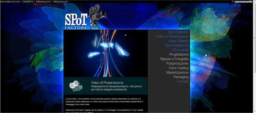 Sviluppo di sito Web Spot 1