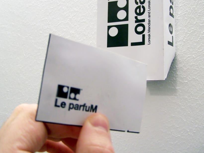 Le parfuM. Prototipo para Loreak Mendian.  3