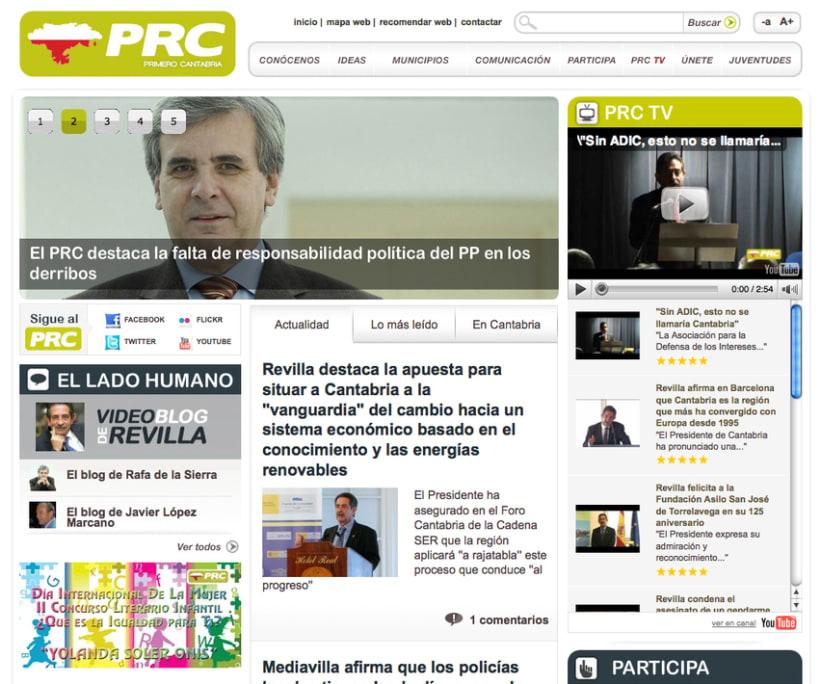 Web del PRC 2