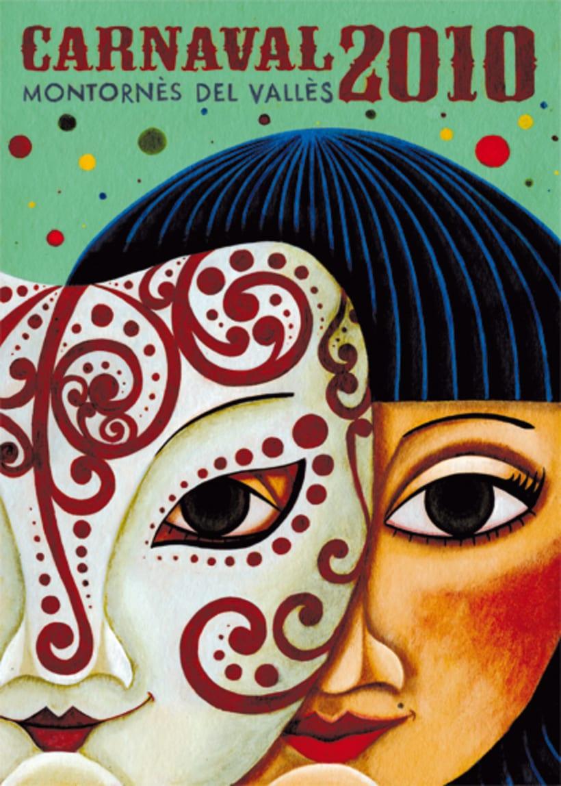 Primer premio de carteles Carnaval Montornés 2010 1