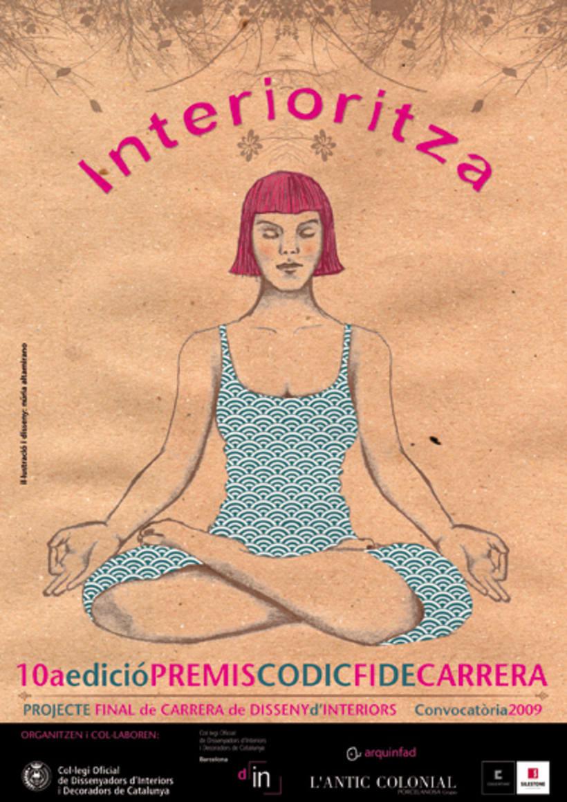 Cartel para los premios CODIC 2009 1
