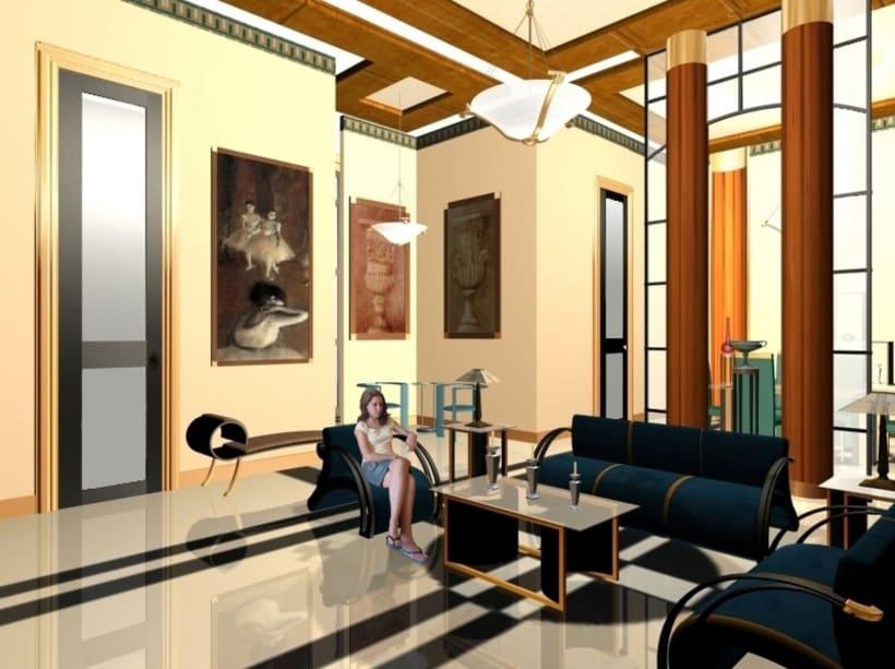 Diseño de Interiores del Sloppy Joe`s Bar-Apartamentos 4