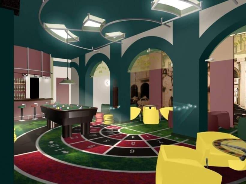 Diseño de Interiores del Sloppy Joe`s Bar-Apartamentos 2