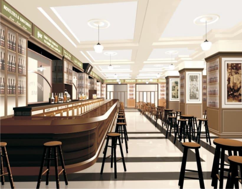 Diseño de Interiores del Sloppy Joe`s Bar-Apartamentos 1