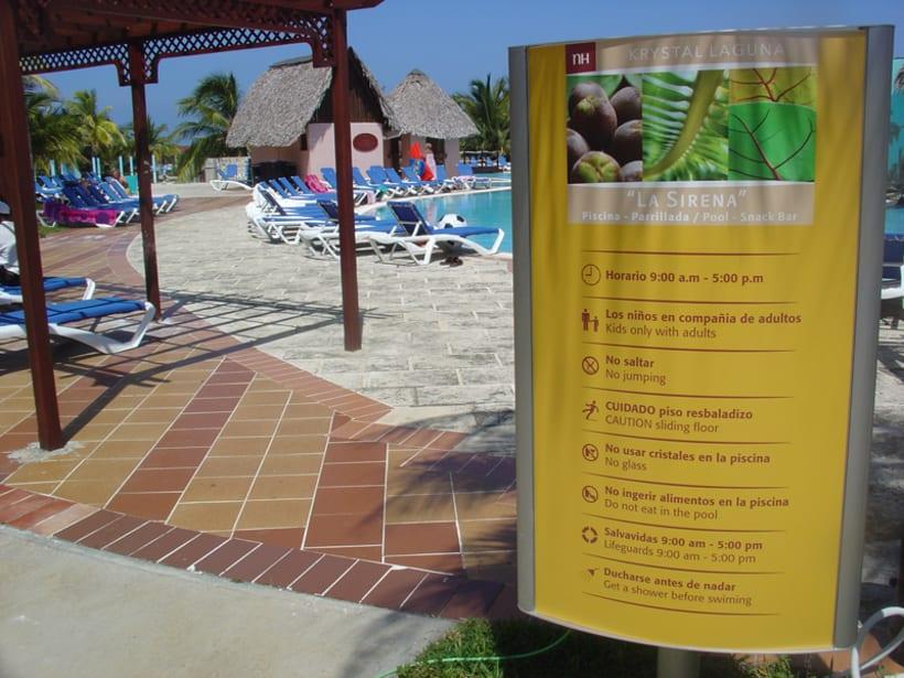 Proyecto de Señalización Hotel NH Krystal-Laguna Cayo Coco 7