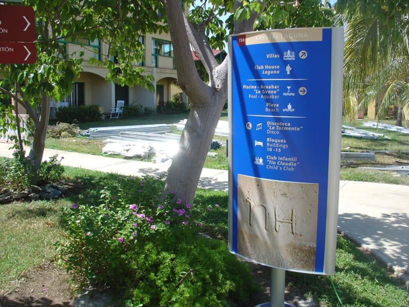 Proyecto de Señalización Hotel NH Krystal-Laguna Cayo Coco 6