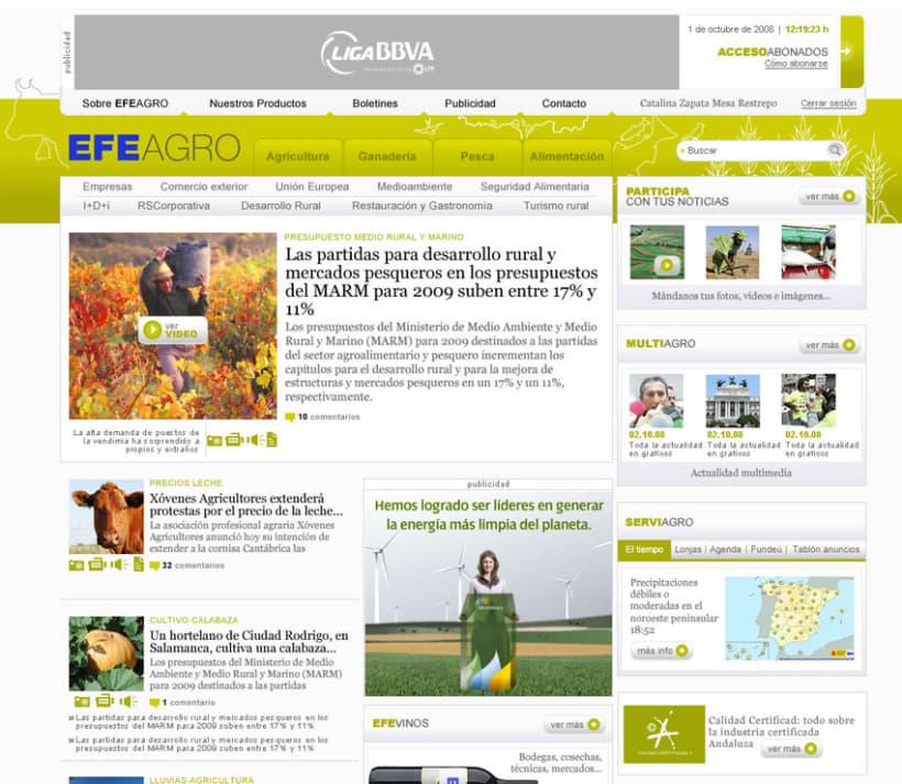 Web EFEAGRO 2
