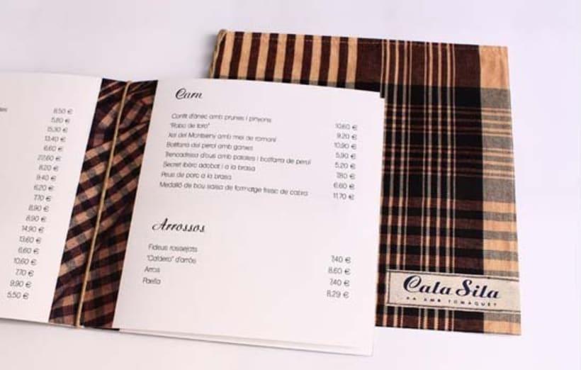 Carta de restaurante 4